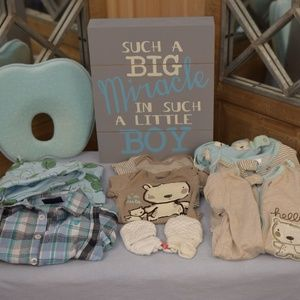 Other - Newborn Boy 10 piece Clothes Bundle